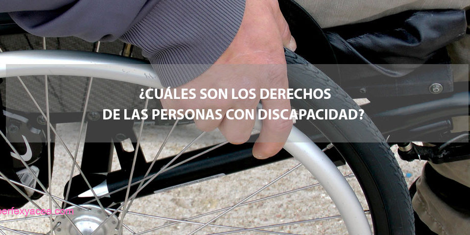 derechos de las personas con discapacidad