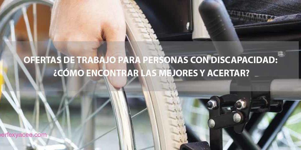 discapacidad y trabajo