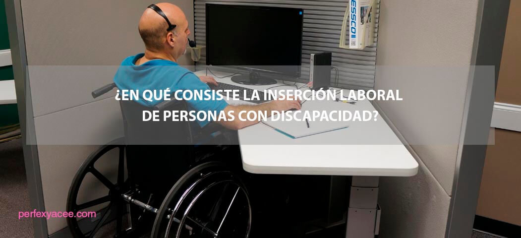inserción laboral de personas con dicapacidad
