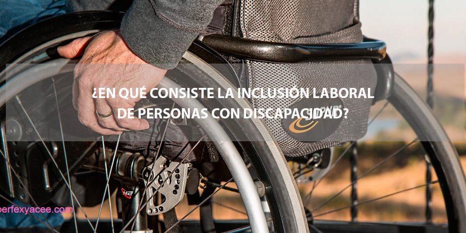 inclusion laboral de personas con discapacidad