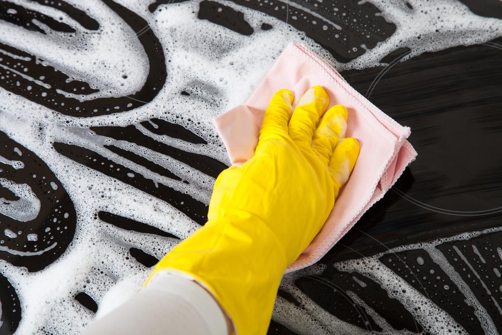 cómo limpiar la estufa