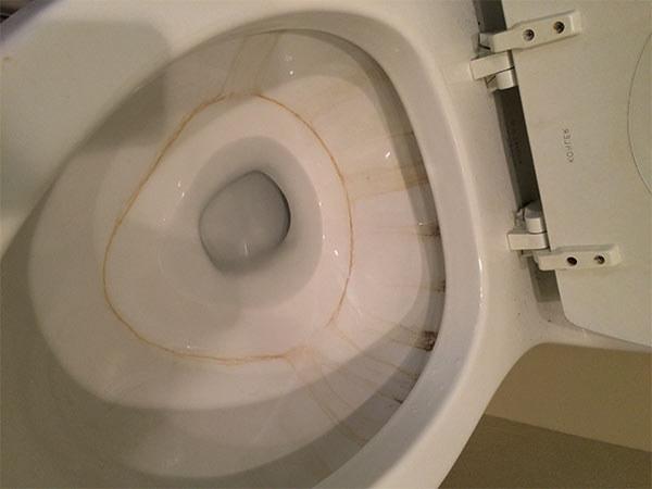 cómo quitar las manchas del inodoro