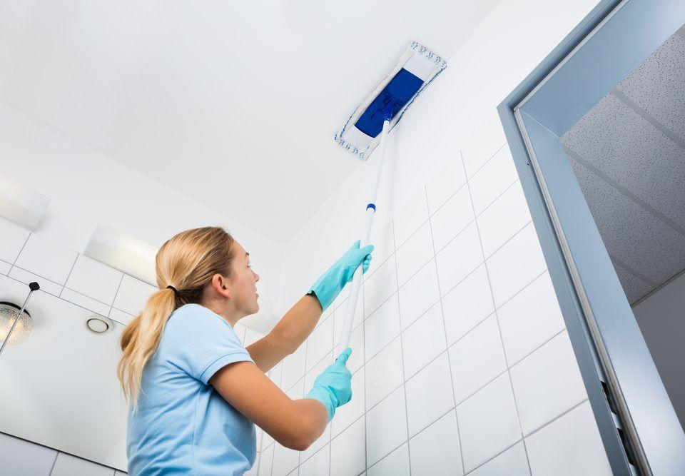 cómo limpiar un plafón