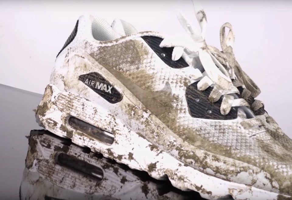 Cómo limpiar los zapatos en un lavarropas