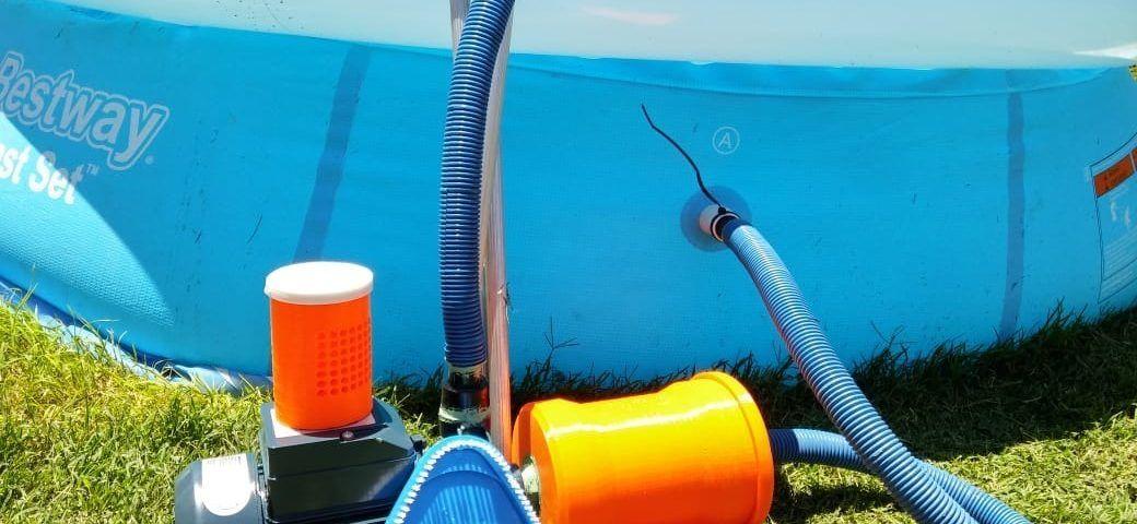 cómo limpiar el filtro de agua de la piscina