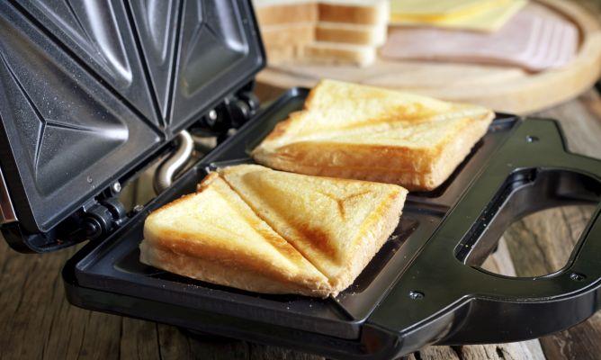 Cómo limpiar una sandwichera