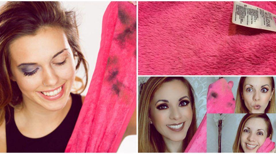 Cómo limpiar el maquillaje de las toallas