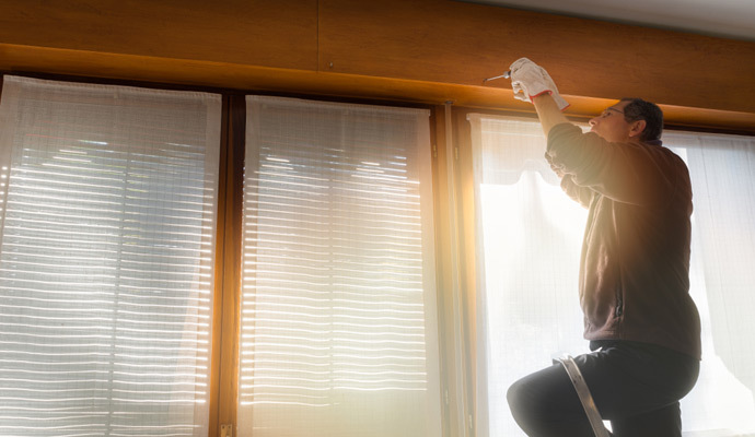 Cómo limpiar persianas