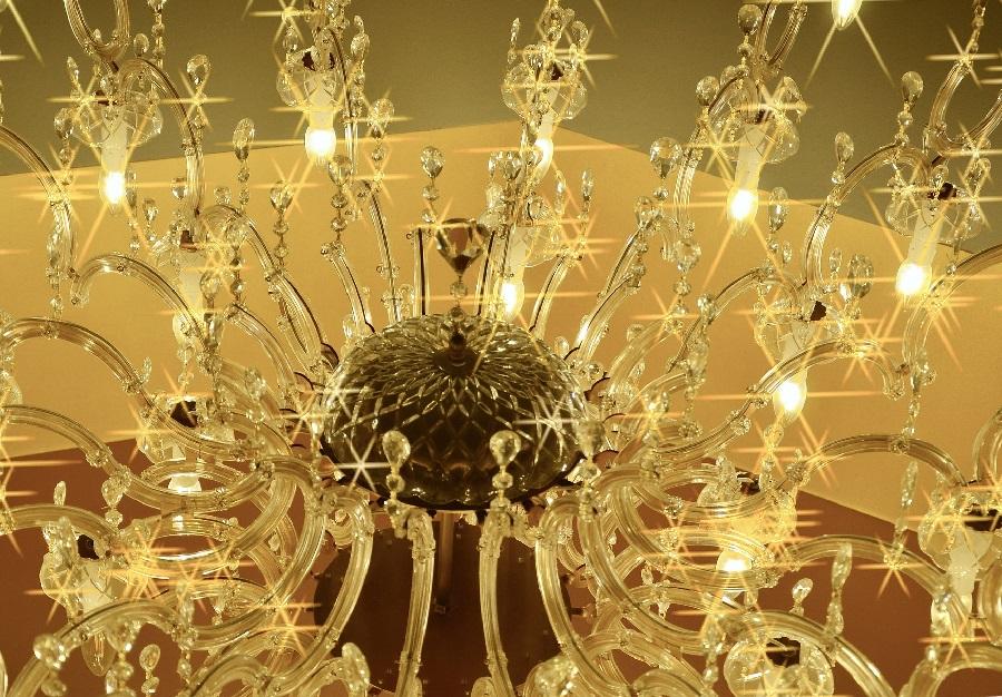 Cómo limpiar lámparas de cristal