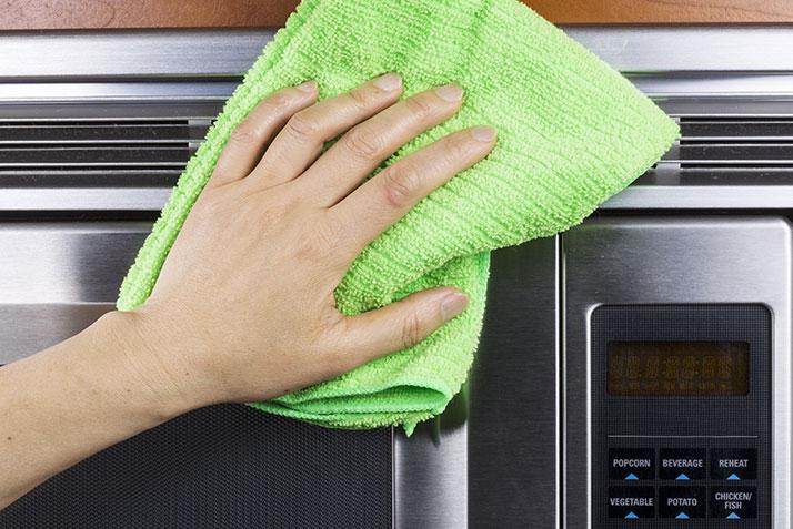 Cómo limpiar electrodomésticos de acero inoxidable