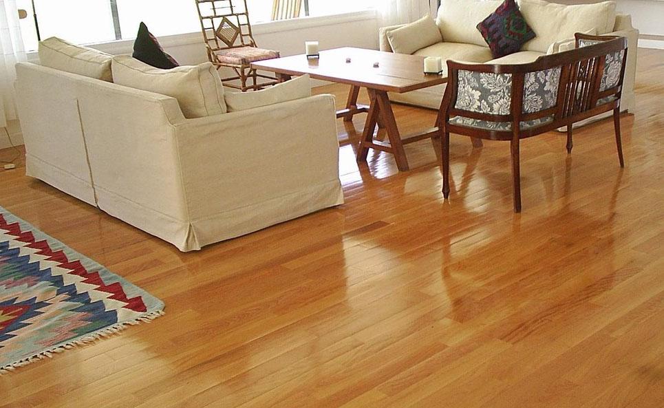 Cómo limpiar suelo de madera