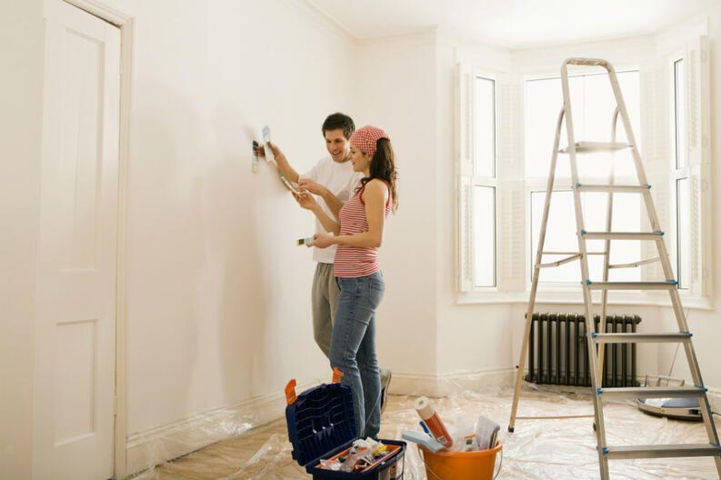 Limpiar paredes blancas