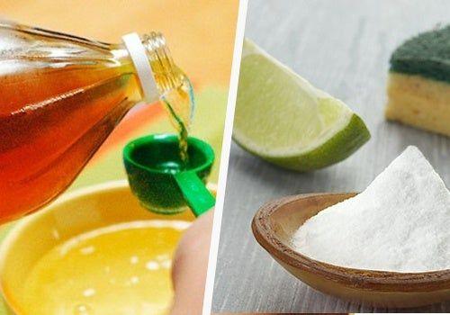 Limpiar con vinagre y bicarbonato