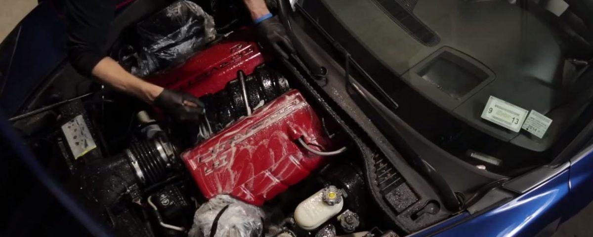 Limpiar un motor