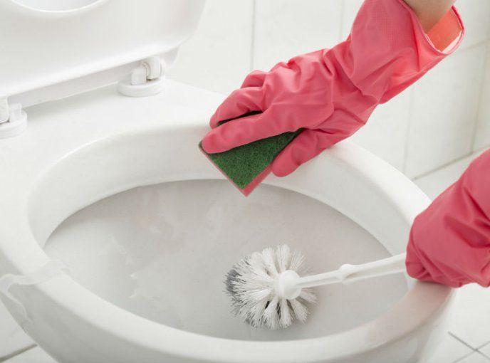 Cómo limpiar inodoro