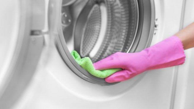 Cómo limpiar goma lavadora