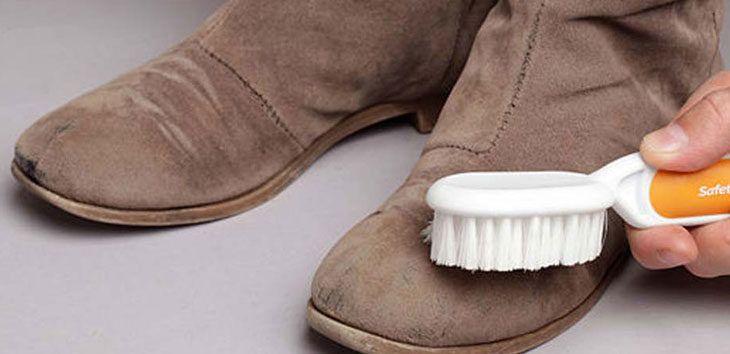 Cómo limpiar zapatillas de ante
