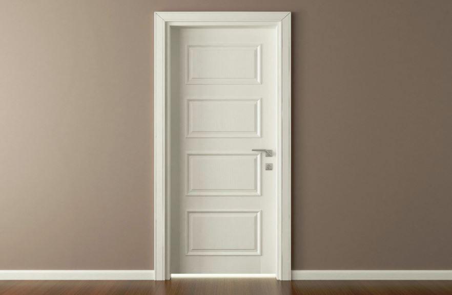 Cómo limpiar puertas lacadas en blanco
