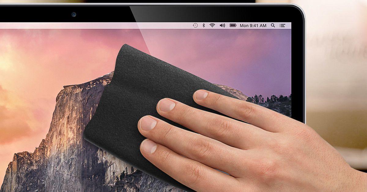 Cómo limpiar la pantalla del Mac